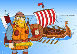The Vikings: Deadly Invaders, Bold Explorers