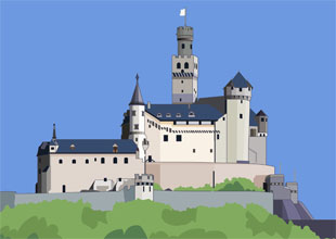 Castles of the Middle Ages: Places of Legend