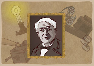Thomas Edison: The Wizard of Menlo Park