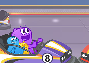 The Blobs and the Bumper Car